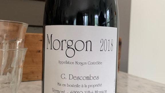 Georges Descombes Morgon Vieilles Vignes 2018 -beaujolais that's alive & poised,