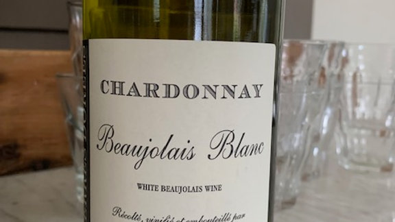 Terres Dorées, Beaujolais Blanc Chardonnay, un-oaked, rare and just lovely