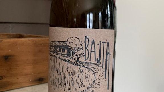 Kobal Bajta Kobal Belo- skin contact white wine from Slovenia!