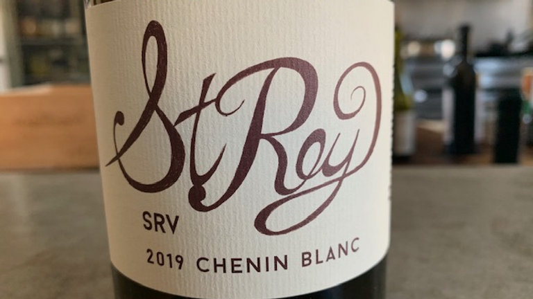 Haarmeyer St. Rey 'SRV' Chenin Blanc, crisp, lean, young chenin blanc