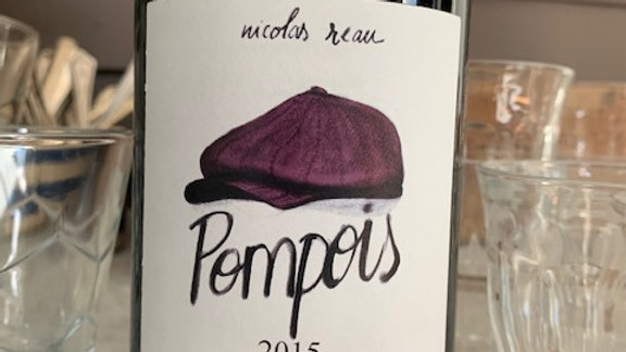 Nicolas Reau Anjou Pompois Cab Franc - mouthwatering and complex