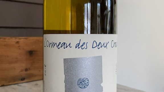 L'Ormeau des Deux Croix Chenin Blanc - luscious and well balanced