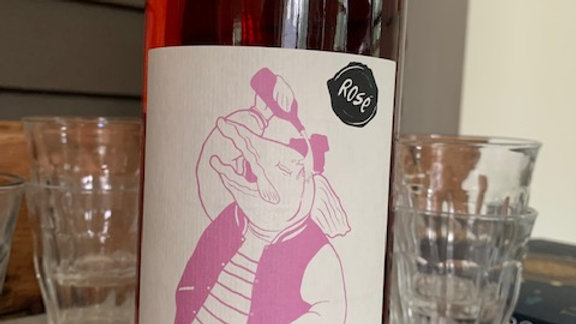 Frantz Saumon La Boutanche Rosé - soft, lush and easy drinking (litre)
