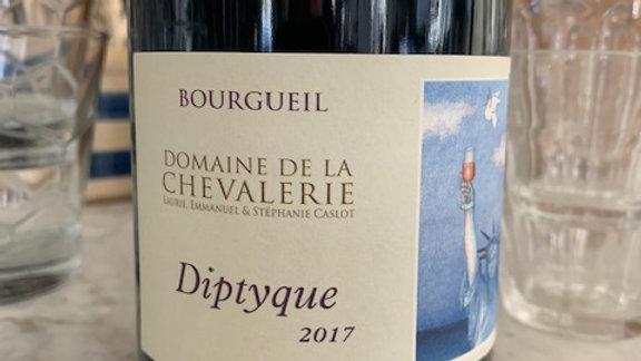 Domaine de Chevalerie Bourgueil Cuvee diptyque, super food friendly