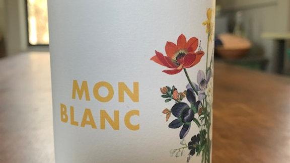 Jurtschitsch Mon Blanc - edgy fruit, balanced acid, fresh, clean and pretty