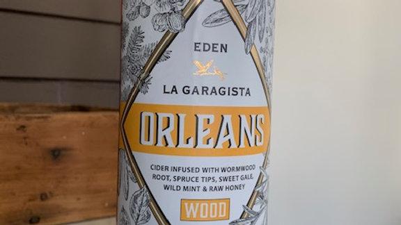 La Garagista Orleans Wood -infused cider aperitif gale, spruce tips & wild mint