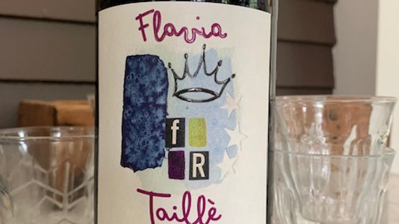 Flavia Taillè Frappato Perricone (Litre) deep, yet soft and easy going -Like me!