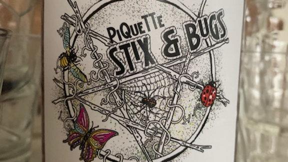 Sanctum Stix & Bugs Piquette Red, light, dry Lambrusco like 8% alcohol