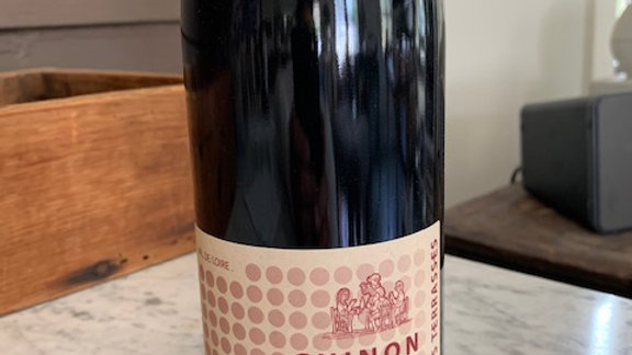 Lambert Chinon Les Terrasses - food friendly cab franc, delicious
