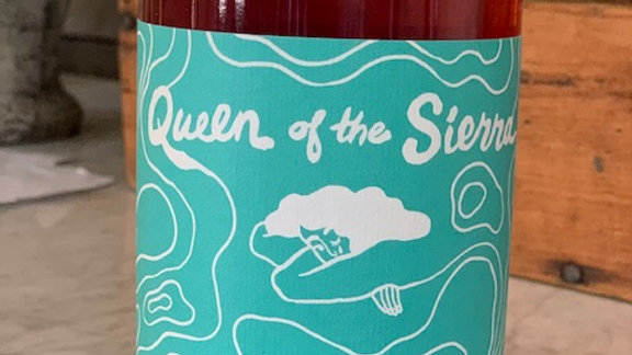 Forlorn Hope's Queen of the Sierra Rose - thirst quenching and delicious