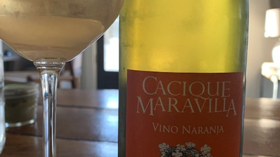 Cacique Maravilla Vino Naranja- Peaches and sunshine!
