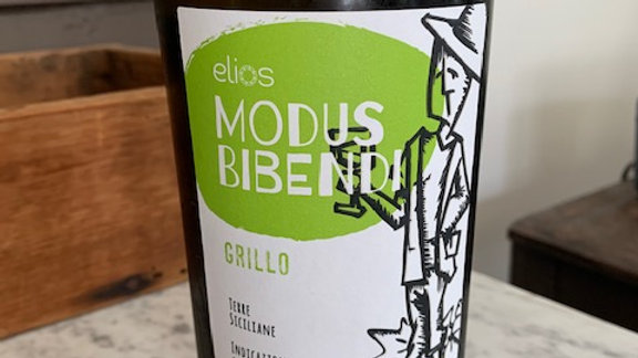 Modus Bibendi Grillo- Sicily, golden yellow, citrus, green tea and sage