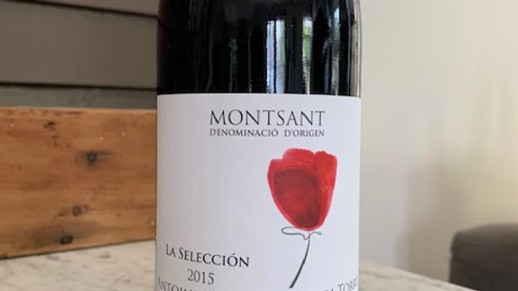 Montsant La Seleccion 2015 - warm and ripe red fruit
