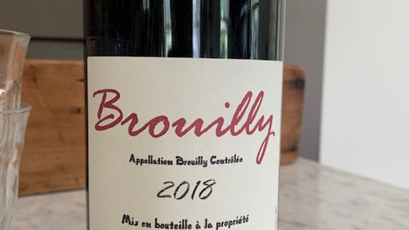 Georges Descombes Brouilly - elegant, vivid and a little spicy