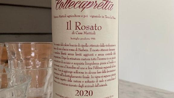 Collecapretta Rosato di Ciliegiolo, a house favorite that doesn't linger long