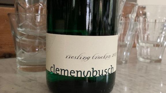 Clemensbusch Riesling Trocken, 'beguiling lightness, playful character'