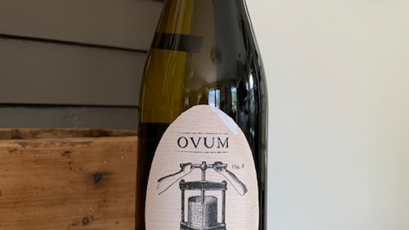 Ovum Memorista Riesling, dry, complex and subtle