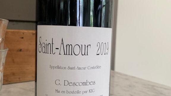 Georges Descombes Saint-Amour Vielles Vignes, dense, juicy blackberries