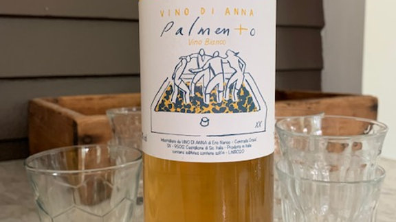Vino di Anna Palmento Bianco- I'm in a serious love affair with this winery