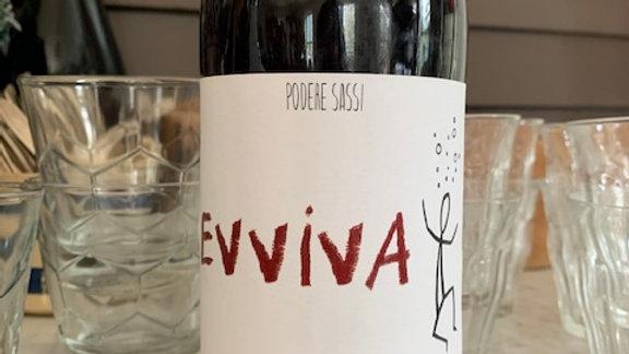 Podere Sassi Evviva, Italian sparkling red from Lazio