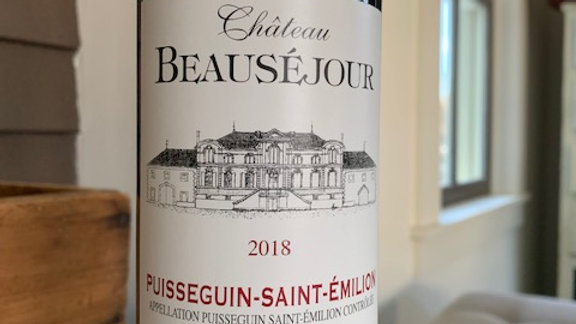 Chateau Beausejour Cuvee Cab Franc-earth, minerals and terroir