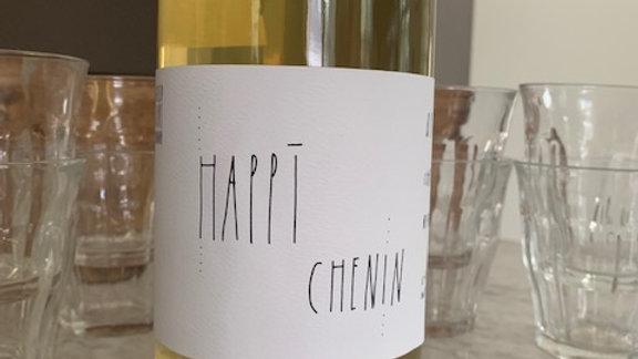 Broc Cellar's Happi Chenin, stunning light bodied chenin from California