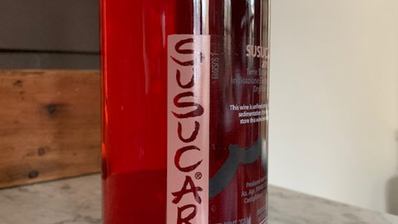 Cornelissen Susucaru Rosato, my gateway drug into natural wines
