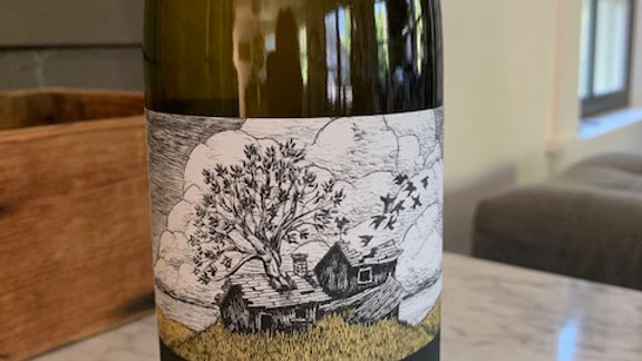 Margins Muskat, from Megan Bell, aromatic, highly textured and bone dry