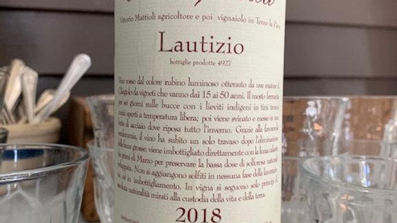 Collecapretta Lautizio-  I've been hoarding this wine it's so beautiful