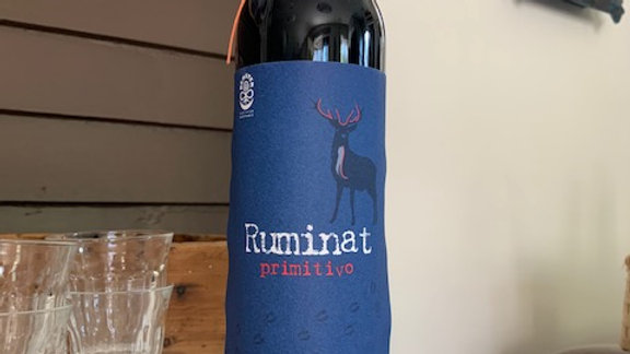 Lunaria Ruminat Primitivo - Rich and well balanced with a red fruit jam finish