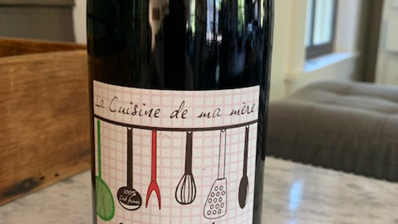 Domaine Grosbois Chinon Rouge, bright, approachable and super food friendly