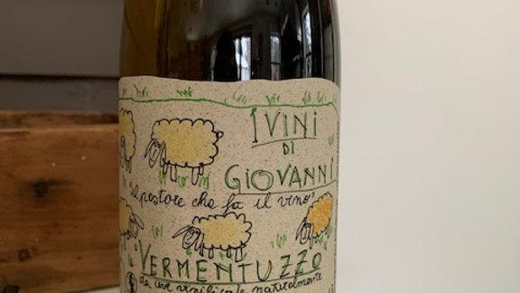 Vini di Giovanni Vermentuzzo, wonderful skin contact vermentino,