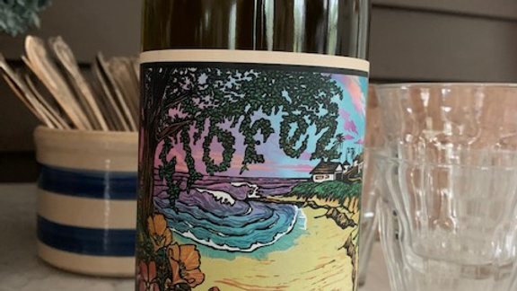 Florez Oyster Pal, Picpoul - an extraordinarily light and pretty wine