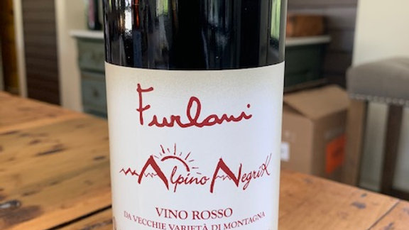 Furlani Vino Rosso -brisk, crunchy, fresh and inexcusably delicious