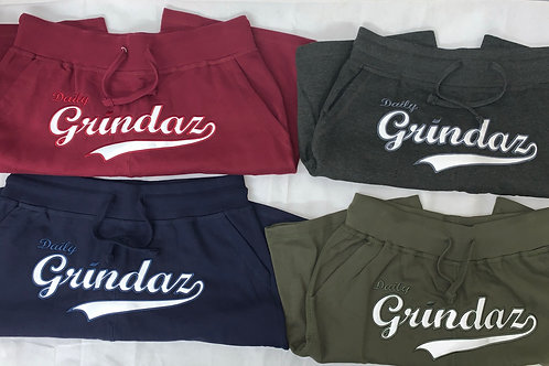Daily Grindaz Embroidered Swoosh Shorts