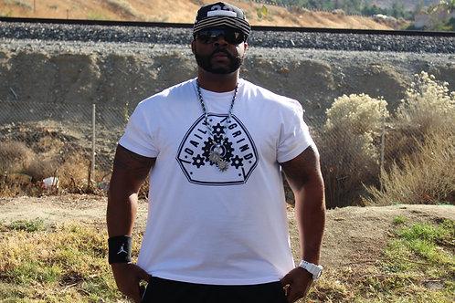 White Daily Grindaz T-shirt