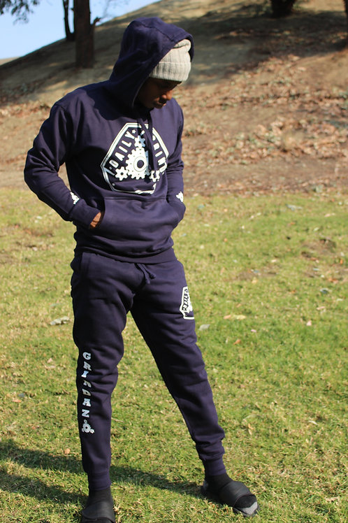 Navy Blue Daily Grindaz Sweatsuit