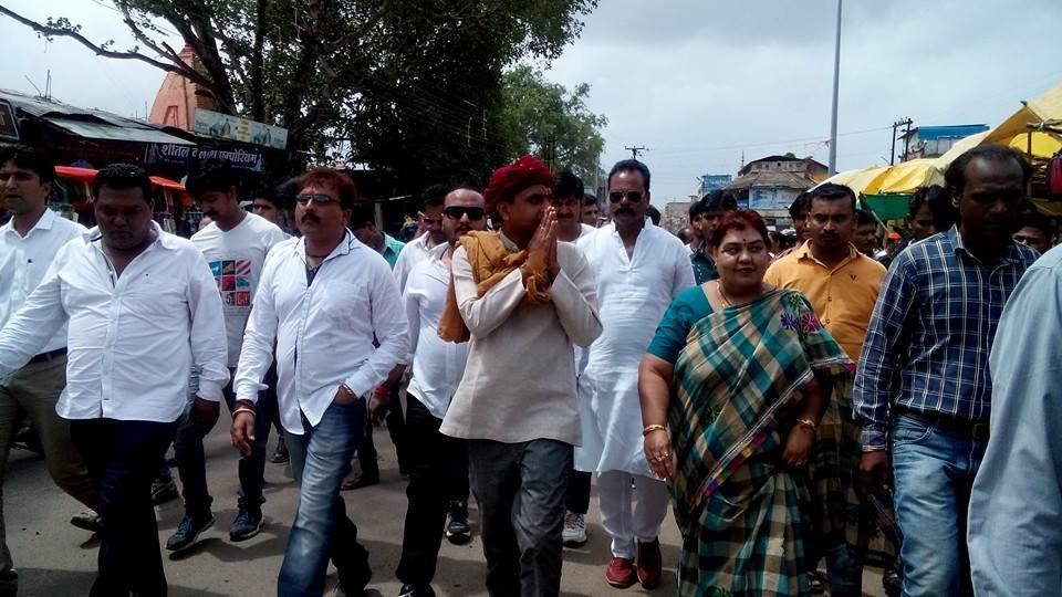Vivek ji during Betul district pad