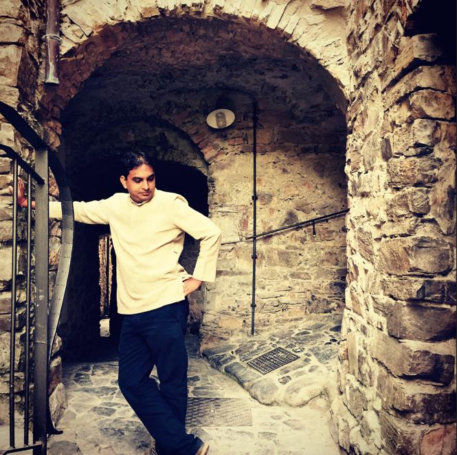 Vivek ji in Italy