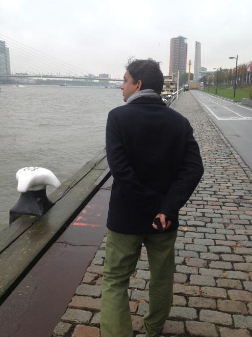 Vivek ji at Rotterdam