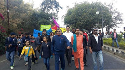 Vivek ji - Walk for protection of climate and environment