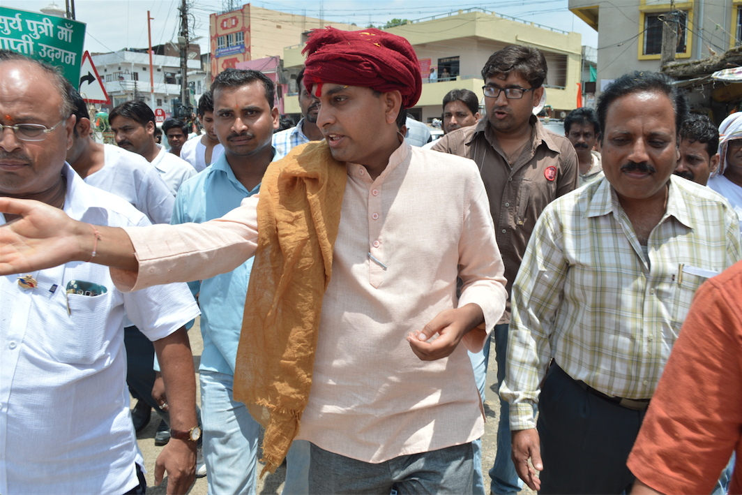 Vivek ji at Multai during a program 2015