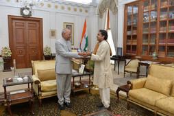 Vivek ji meets Hon President Shri Ramnath Kovind ji