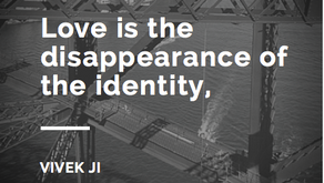Love is an acceptance.