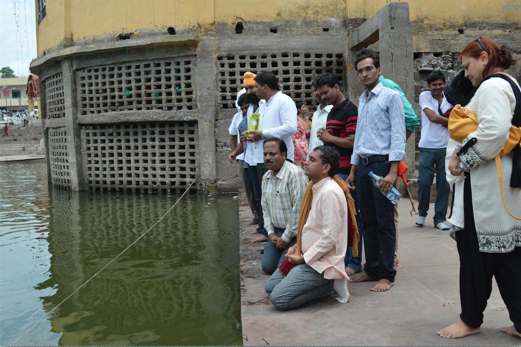 Vivek ji at Maa Taapti Ghat 2015