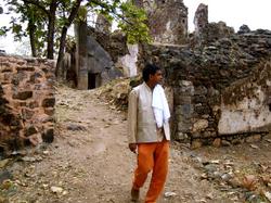 Vivek ji at Old fort