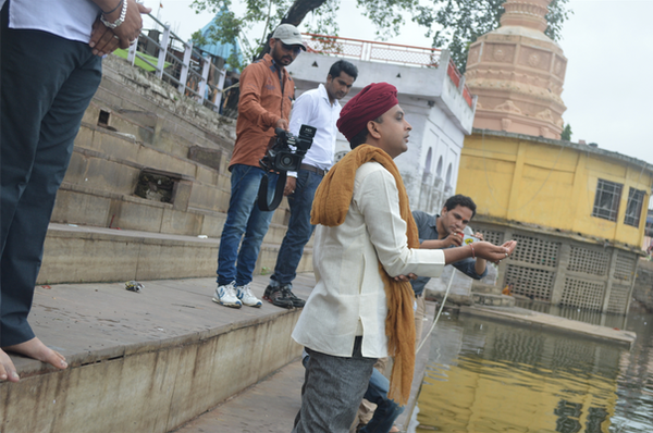 Vivek ji at River tappti