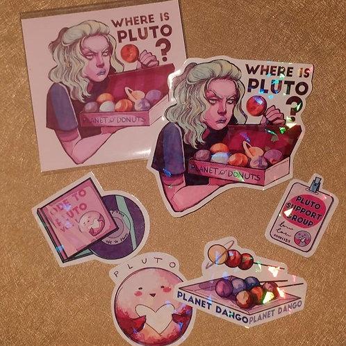 PLUTO - Sticker Set