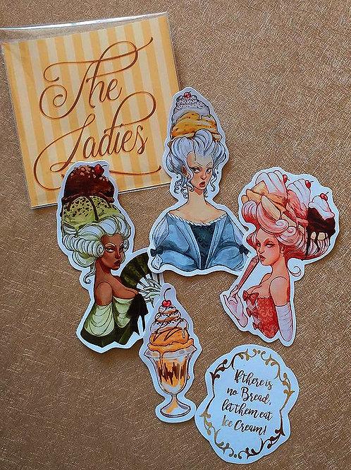 Ice Cream Madames - Sticker Set