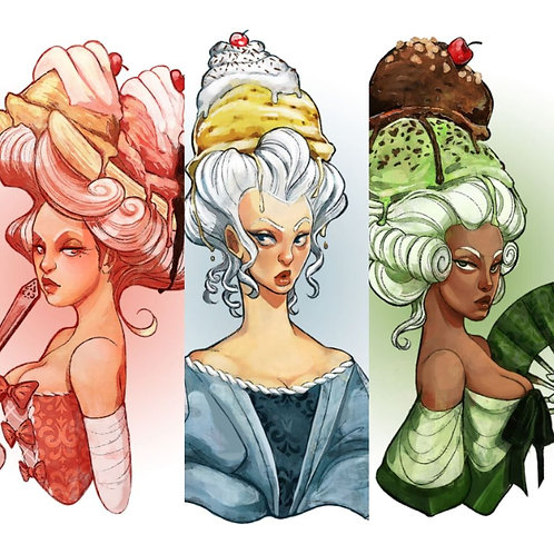 The Ice Cream Madames [PACK/CHOOSE ONE]